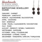 Birthstone Jewellery Guide